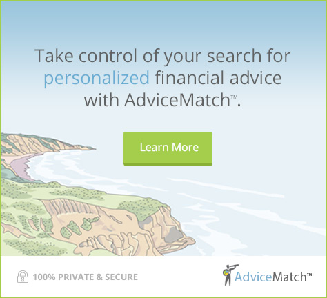 Take control of your search for personalized financial advice with AdviceMatch™