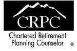 Chartered Retirement Planning Counselor